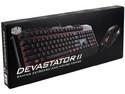 Teclado Gamer y Mouse Cooler Master Devastator II Gaming Combo, USB, LEDs Rojo.