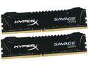 Memoria Kingston Hyper X Savage DDR4 (2800MHz), 16GB (2 x 8GB), Kit con dos piezas de 8GB.