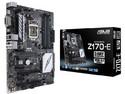 T. Madre ASUS Z170-E, Chipset Intel Z170, Soporta: Core i7/i5/i3/Celeron/Pentium de 6ta Gen., Socket 1151, Memoria: DDR4 3400(O.C.)/ 2400(O.C.)/2133 MHz, 64GB Max, Integrado: Audio HD, Red, USB 3.1 y SATA 3.0, ATX, Ptos: 3xPCIE3.0x16, 1xPCIE3.0x1