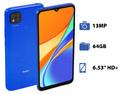 Smartphone Xiaomi Redmi 9C: Procesador MediaTek Helio G35 (hasta 2.30GHz), Memoria RAM de 3GB, Almacenamiento de 64GB, Pantalla LED Multi Touch de 6.53