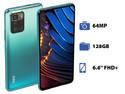 Smartphone Xiaomi POCO X3 GT:  Procesador Mediatek Dimensity 1100 Octa Core (hasta 2.6 GHz),  Memoria RAM de 8GB, Almacenamiento de 128GB,  Pantalla LED Multi Touch de 6.6