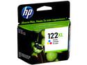 Cartucho de tinta HP 122XL Tricolor Original (CH564HL).