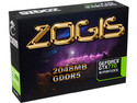 Tarjeta de Video ZOGIS NVIDIA GeForce GTX 770 Super Clock, 2 GB GDDR5, DisplayPort, HDMI, DVI, Puerto PCI Express x16 3.0.