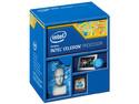 Procesador Intel Celeron G1840 a 2.80 GHz con Intel HD Graphics, Socket 1150, Caché 2 MB, Dual-Core, 22nm.