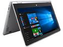 Laptop 2 en 1 GHIA SHIFT 4114432S: Procesador Intel Atom x5-Z8350 (hasta 1.92 GHz), Memoria de 4GB LPDDR3, Almacenamiento de 32GB, Pantalla de 11.6