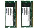 Memoria SODIMM Patriot Signature Apple DDR3, PC-10600 (1600MHz), CL9, 8GB(2x4GB).
