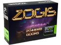 Tarjeta de Video ZOGIS NVIDIA GeForce GTX 760 Super Clock, 2 GB GDDR5, DisplayPort, HDMI, DVI, Puerto PCI Express x16 3.0.