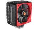 Disipador y Ventilador Thermaltake NiC C5 Untouchable, soporta Socket Intel 2011/ 1366/ 1155/ 1156/ 1150/ 775, AMD FM1/ FM2/ AM3+/ AM3/ AM2+/ AM2, Dual 120mm.