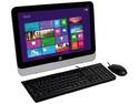 Computadora HP 205 G1 All-in-One Business PC, Procesador AMD E1-2500 (1.4 GHz), Memoria 4 GB DDR3, D.D. de 500 GB, DVD±R/RW DL, Video  RADEON HD 8240, Windows 8.1 (64 Bits), Pantalla LED de 18.5