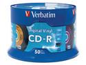 Paquete de 50 CD-R Verbatim Digital Vinyl de 700MB / 52X.