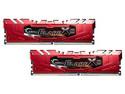 Memoria G.SKILL FlareX DDR4 (2400 MHz), CL16, 16 GB (2 x 8 GB).