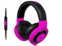Audífonos con Micrófono Kraken Neon, Jack 3.5 mm, respuesta de frecuencia 20 - 20,000 Hz, Color Púrpura.