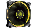 Ventilador Eagle Warrior Halo Fan con Leds Amarillo, 120 mm.