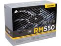 Fuente de Poder Corsair RM650 de 550W, ATX, 80 PLUS GOLD.