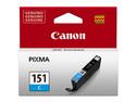 Cartucho de Tinta Canon Cian Modelo: 151 C.