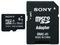 Memoria Sony microSDHC de 8 GB Clase 10, incluye adaptador SD.